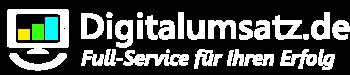 Digitalumsatz.de Logo 7b white